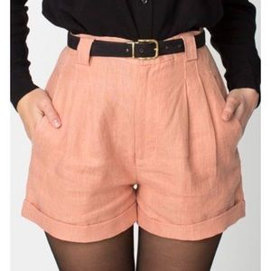 Cuffed Lines Shorts